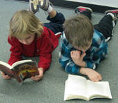 Floor reading buddies