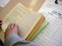 Independent reading is a component of our Reading Framework.