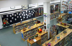 A view of the LMC from the second floor